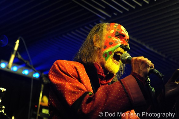 the Crazy world of Arthur Brown @ the Moorings Bar Aberdeen Oct 2013